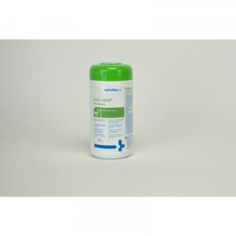 mikrozid® AF wipes Dose 150 Tücher schülke 1