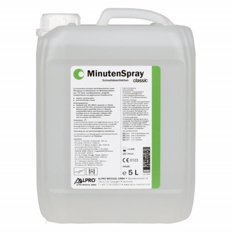 MinutenSpray classic Kanister 5l, ohne Auslaufhahn ALPRO MEDICAL 1