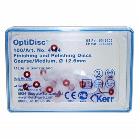 OptiDisc® Napa. 100 St. Ø12,6mm, grob-medium Kerr 1