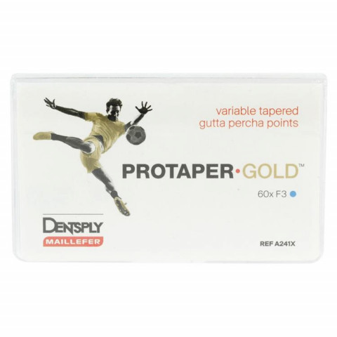 PROTAPER GOLD™ Guttaperchaspitzen Pckg. 60 St. F3 Dentsply Sirona 1