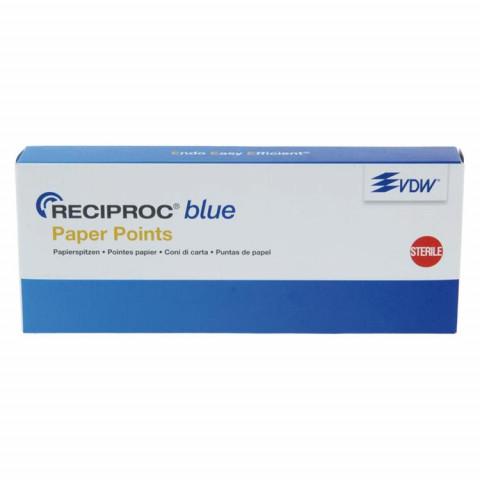 RECIPROC® blue Papierspitzen Pckg. 180 Stück ISO 025 VDW 1