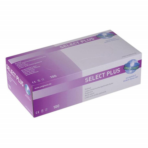 Select PLUS Latexhandschuhe S 1