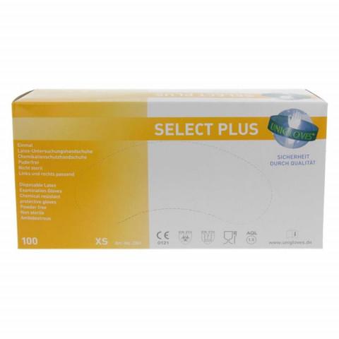 Select PLUS Latexhandschuhe XS 1
