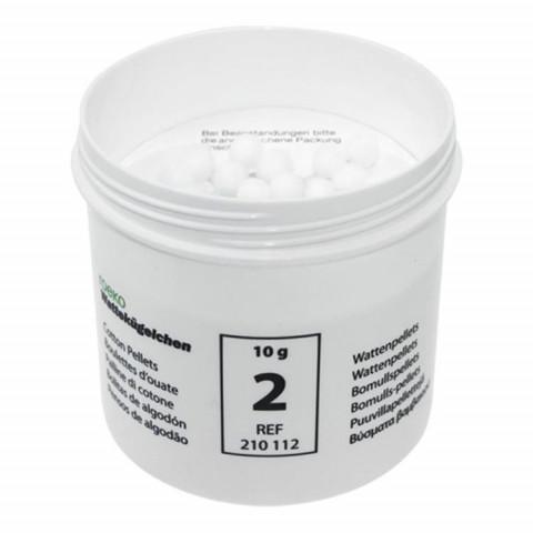 Wattekügelchen Dose ca. 10 g Größe 2 Ø 7,6 mm Roeko