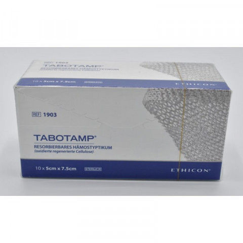Tabotamp Gazestreifen 5x7,5cm 1