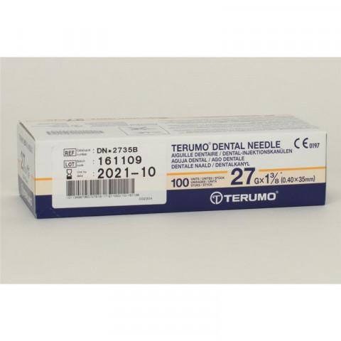 Terumo Injektionsnadeln 27G 35mm 1