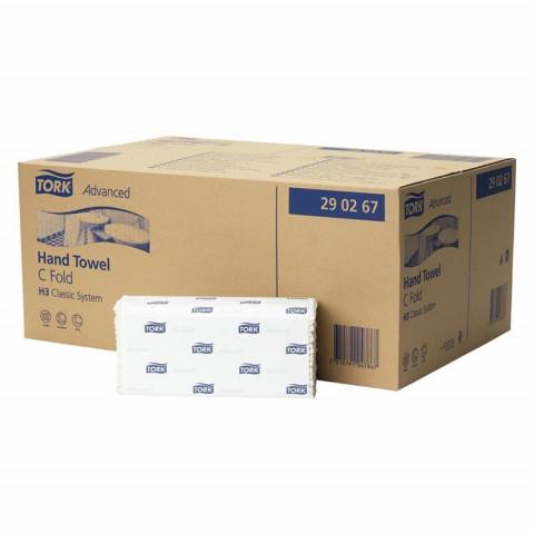 TORK® Handtuch Lagenfalzung (C-Falz) 1.680 Stück weiß 25x41cm essity