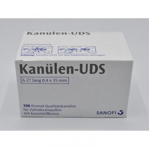 Kanülen-UDS 100 St. G27 lang 0,4x35mm Sanofi 1