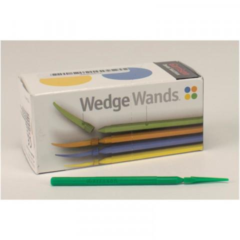 WedgeWands™ Packung 100 Stück grün, groß Garrison Dental Solutions